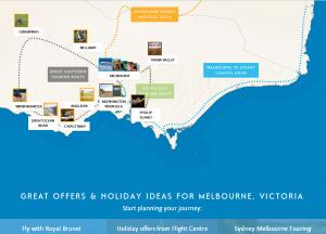 Win a trip to Melbourne, Australia.