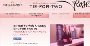 Win a trip to France.