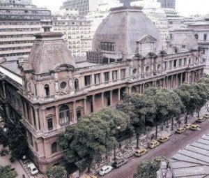 The Museu National de Belas Artes.
