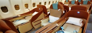 Oman Air tops the list for best business class, according to CNN.