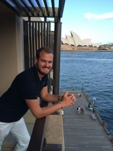 Visiting the Sydney Harbour...crossed that off my bucket list!