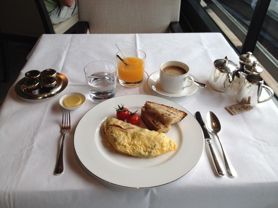 Park Hyatt Sydney Breakfast