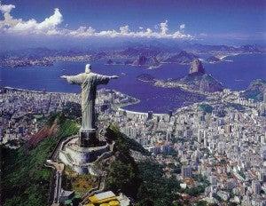 The beautiful Rio de Janeiro.