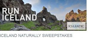 Win a trip to Iceland.