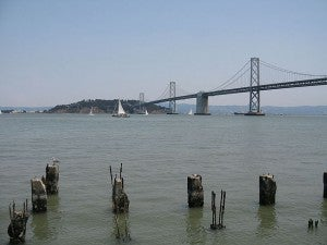 San Francisco Bay from the Embarcadero
