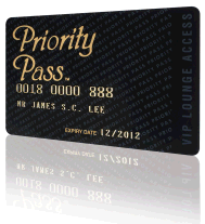 Centurion members still must present a Priority Pass card in order to gain lounge access