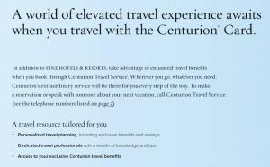 Benefits of Centurion Travel Service