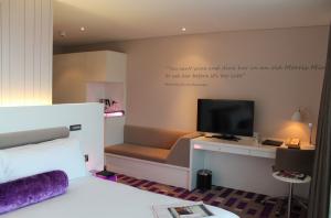 King Bedroom at the Morrison Hotel
