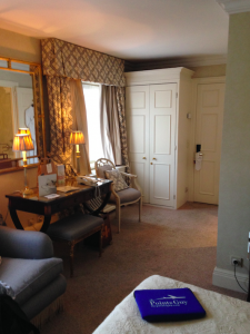 Alternate view of Room 501, Hotel Stanhope, Brussels,