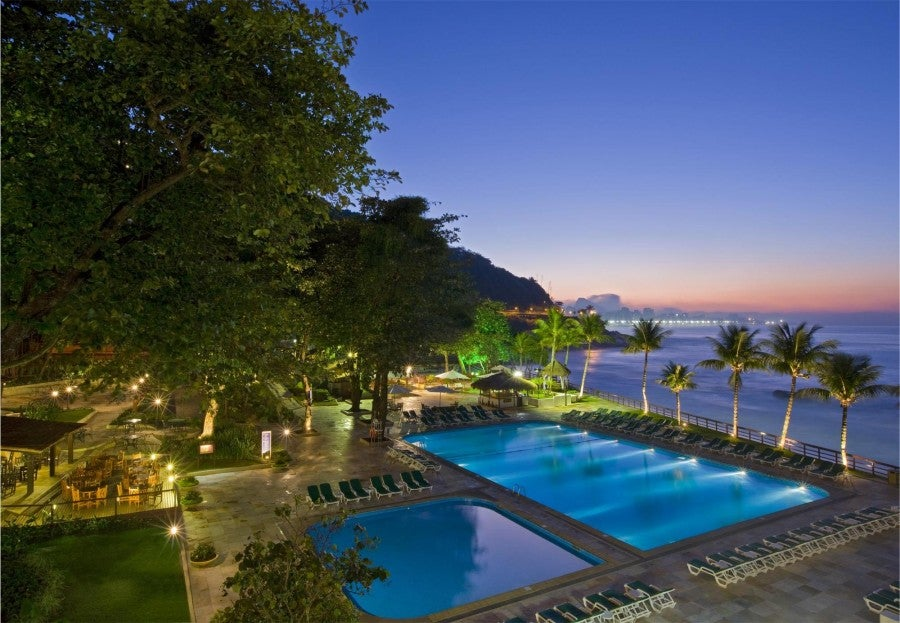 Gold status gives you a variety of benefits at hotels like the Sheraton in Rio De Janeiro