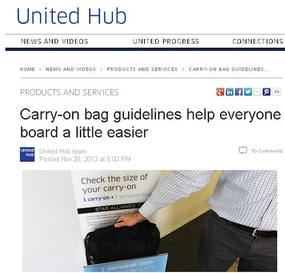 United Says The New Rules Will Sd Up Boarding