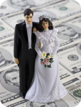 More wedding expenses means more chances to rack up points.