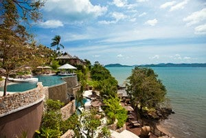 The Westin Phuket overlooking Siray Bay.