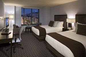 Double City View Room at Hyatt Fisherman's Wharf