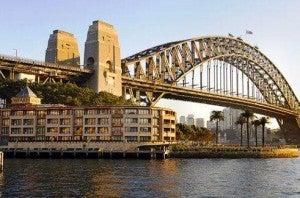 The Park Hyatt Sydney...crossed that off my bucket list!