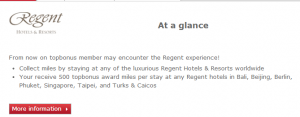 Air Berlin partners with Regent Hotels.