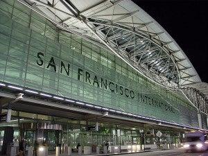 The modern facade of SFO's Terminal 2