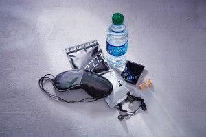 Delta's new Sleep Kit, available in Economy on international flights