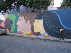 Colorful street art in San Jose, Costa Rica - Photo by Melanie Wynne