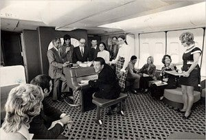 The benefits of American's original AAirpass were even more amazing than this: a grand piano on a 747