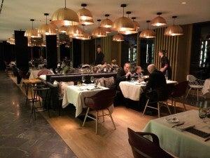 Arola is the upscale hybrid Swiss tapas restaurant.