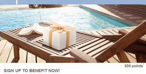 Accor is offering 500 bonus points for one stay.