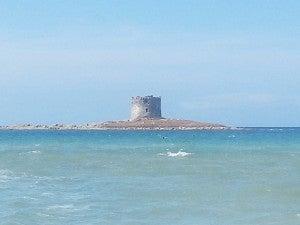 A small island castle off of Stintino beach.