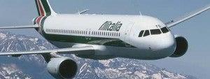 Fly Alitalia to Rome.