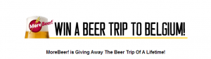 Win a beer trip to Belgium.