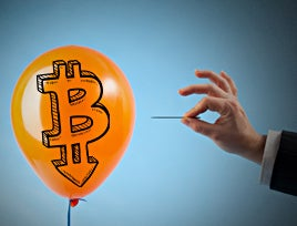 The value of bitcoin fluctuates so wildly amidst financial speculation and global events, it could well be the new dot.com bubble