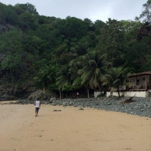 Cachorirnhos house on the beach