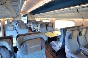 The economy class in Allegro.