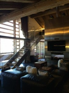 Inside a Wow Suite.