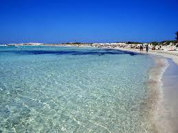 Playa Illetes in Formentara.