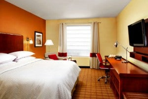 King guestroom at the Four Points by Sheraton New Delhi, Airport Highway