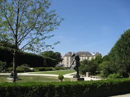 The Rodin Gardens.