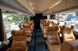 The Vamoose Gold Bus