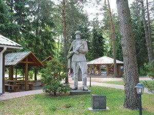 The Gruto park has 86 Soviet sculptures.