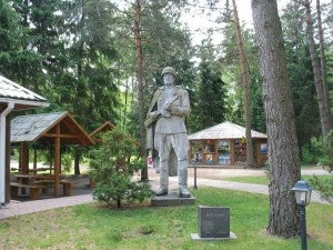The Gruto park has 86 Soviet sculptures.