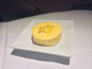 Hawaiian's mango cheesecake