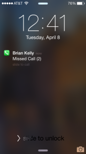 I imagine that this is what my ambassador's phone looked like...