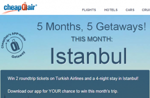 Win A Trip To Istanbul.