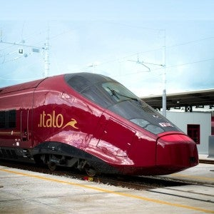 The Italo trains.