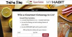 Win a gourmet food trip to LA.