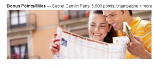 5,000 Marriott Rewards Bonus points for a stay at the Renaissance Paris Vendome Hotel.