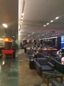 Air New Zealand's lounge at SYD