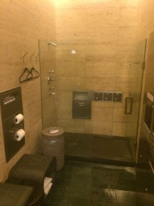 NZ Lounge shower