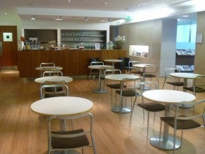 American's Arrivals lounge at Heathrow's Terminal 3