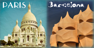 The Paris Barcelona route launched in December 2013.