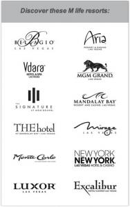 Participating M life resorts